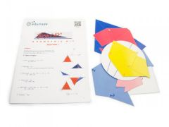 Cardboard Geometry Set