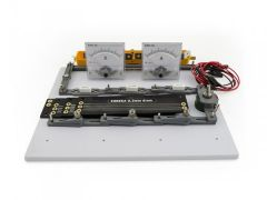 Circuit board kit with ammeter and voltmeter