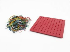 Pinboard and Elastic Bands