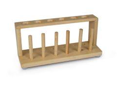 Wooden Test Tube Rack